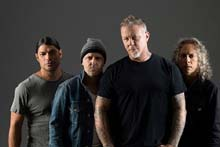 Metallica's first show in Auckland sold out - Next show on 9th April